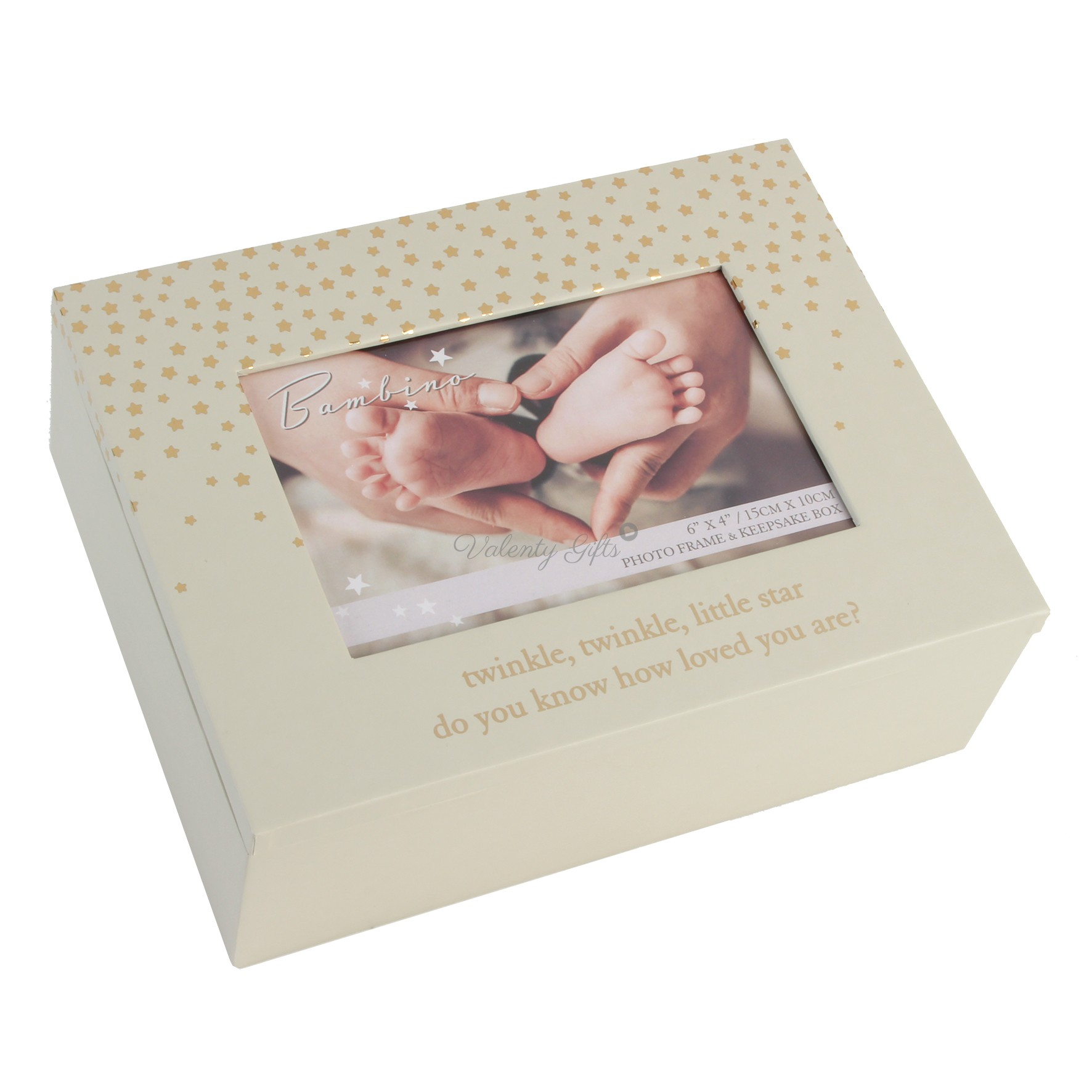 Кутия за спомени с място за снимка Little Star