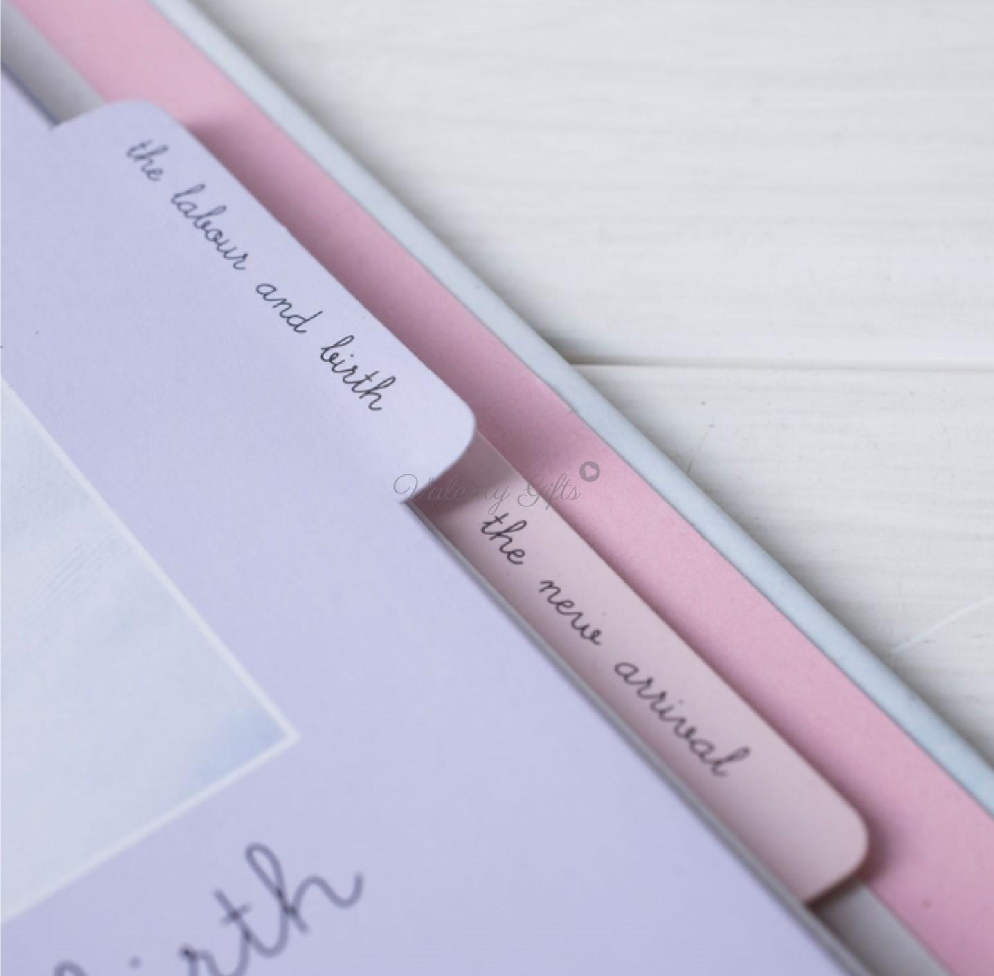 Дневник за бременността с раздели