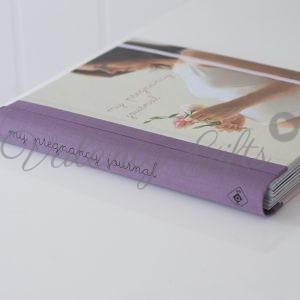 Лилав дневник My pregnancy journal