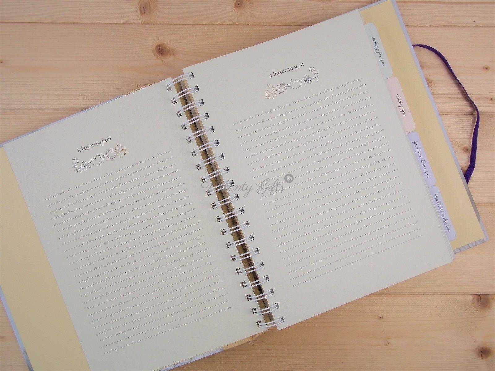 a letter to you страница на дневник за бебето