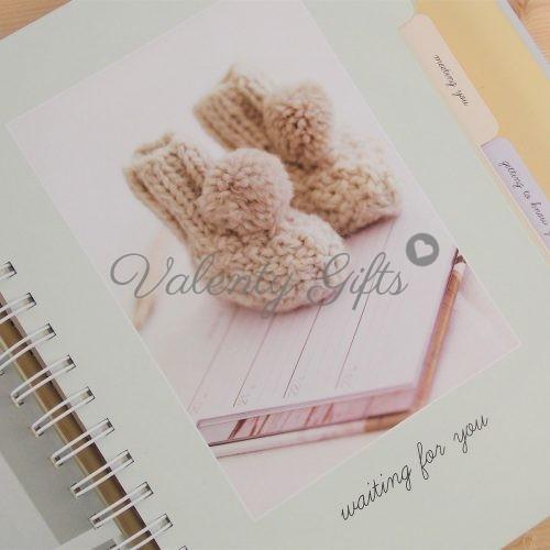 Страница от дневник за бебето- waiting for you