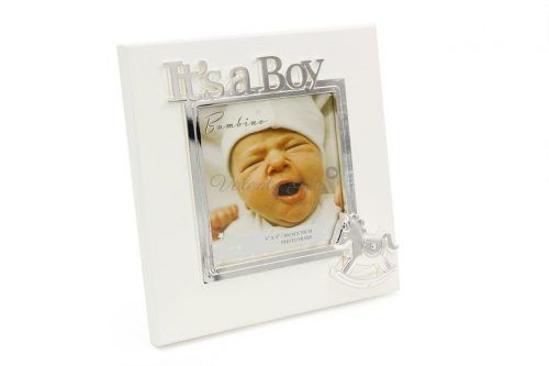 Рамка-снимка-за-бебе-подарък-момченце