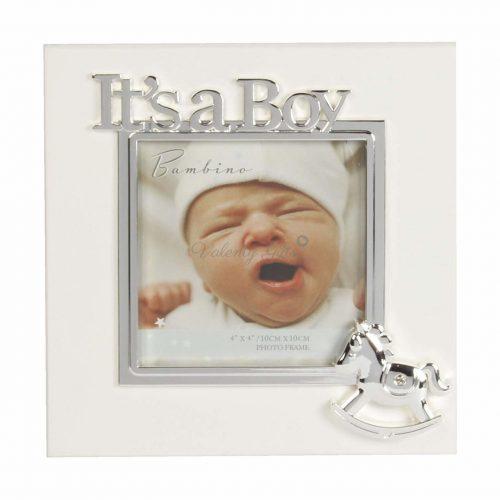 Bambino-It's-a-boy-рамка-за-бебешка-снимка