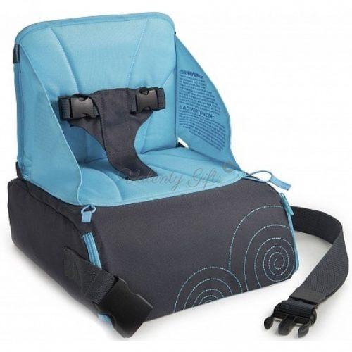 Синя детска седалка за хранене Munchkin