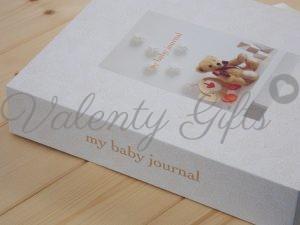 Дневник на моето бебе Deluxe My baby's journal корица