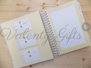 Deluxe journal My baby вътрешни страници с джобчета