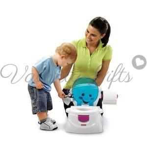 майка и дете до гърне My Potty Fisher Price