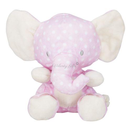 Розово слонче плюшена играчка
