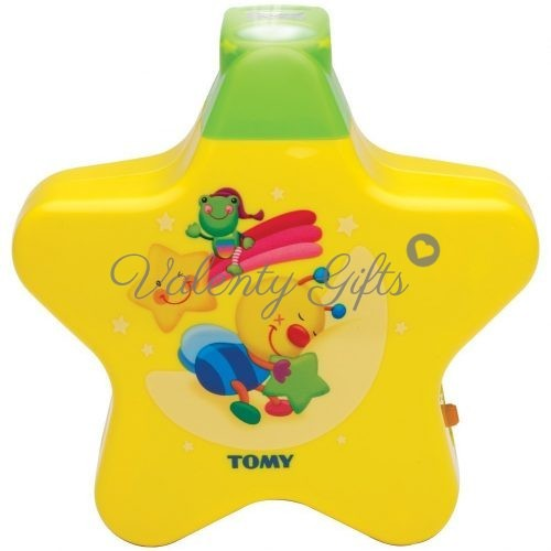 Tomy Музикална жълта лампа звездичка