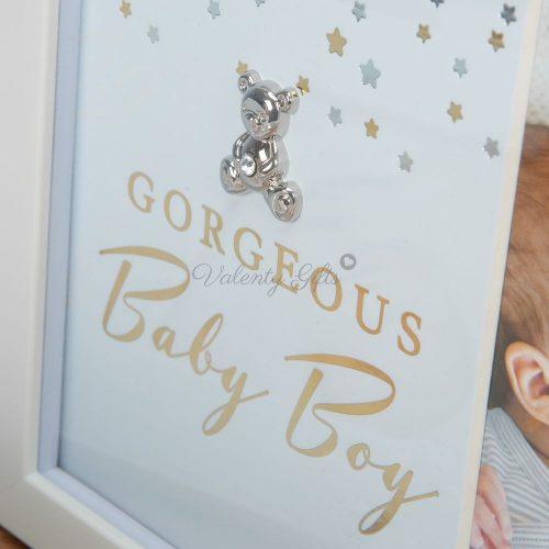 gorgeous-babyb-boy-сребърно-мече-рамка-за-снимка