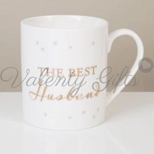 Бяла чаша с надпис Best Husband