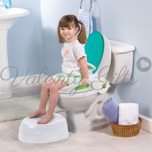 Гърне, детска седалка за тоалетка и стъпало