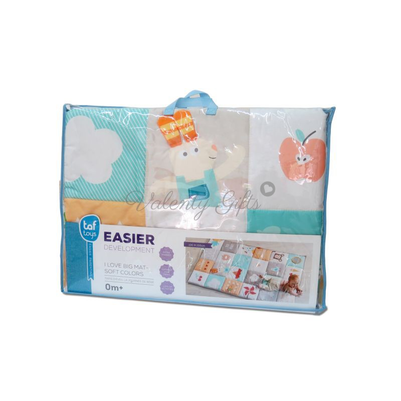 Килимче за игра Taf Toys I love big mat опаковано
