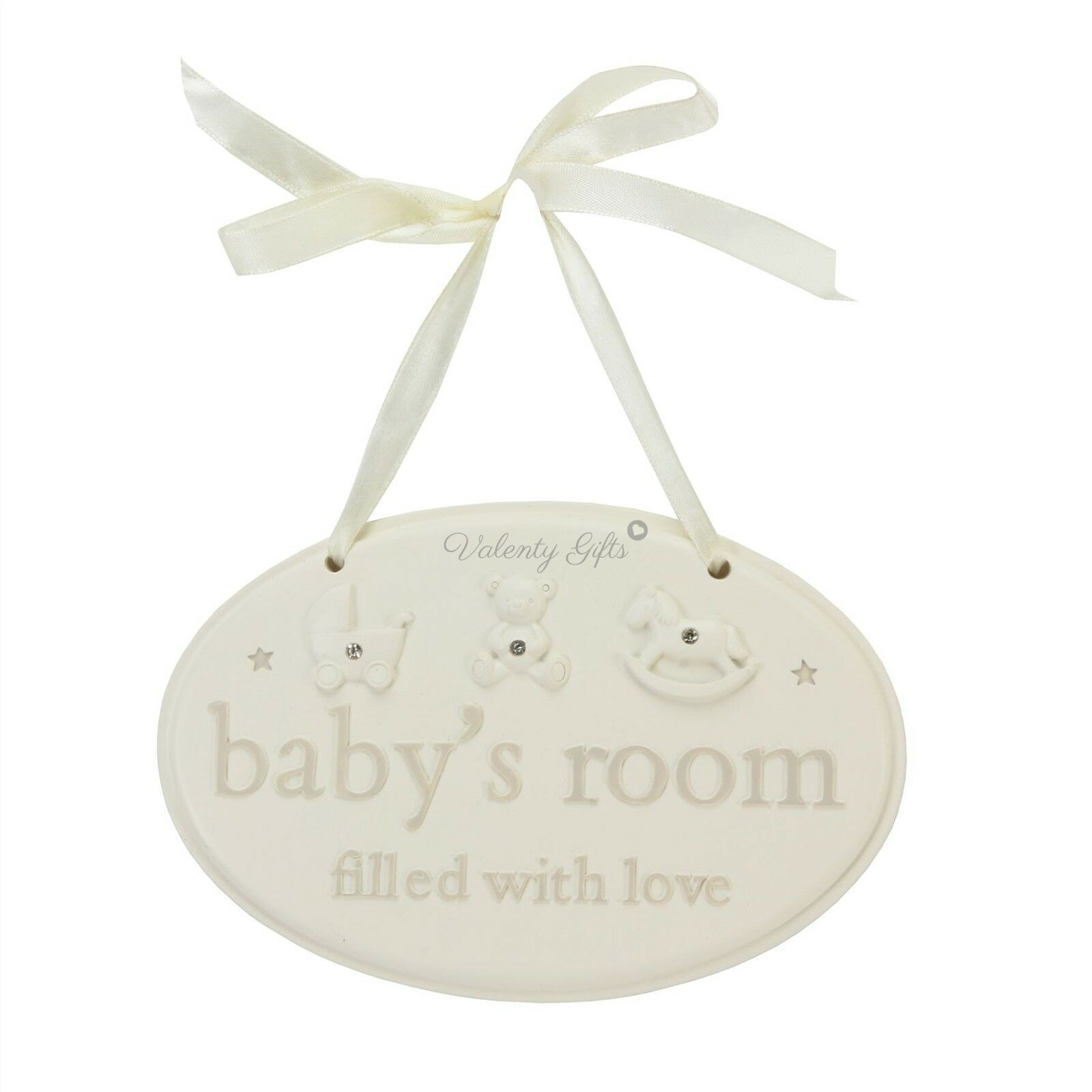 Табелка с надпис за детска стая на бебе