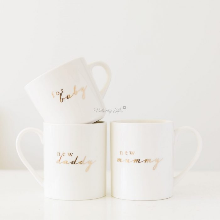 Чаши за майка, татко и бебе, новородено