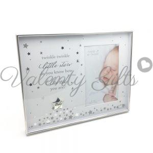 Красива-рамка-за-бебешка-снимка-звездички