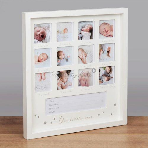 рамка-снимки-първата-година-на-бебе