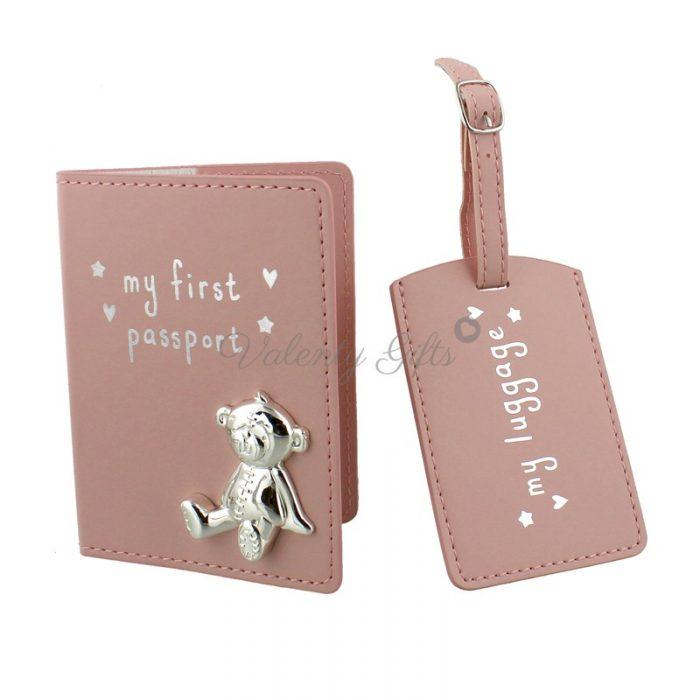 Подарък-за-бебе-калъф-за-паспорт-Button-Corner