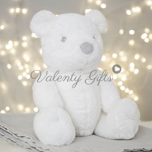 бяло-плюшено-голямо-мече-Bambino-подарък
